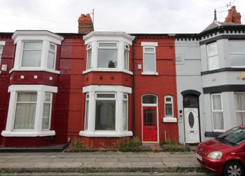 Thumbnail 4 bed terraced house for sale in Errol Street, Aigburth