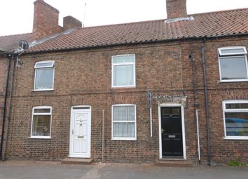 Thumbnail 2 bed terraced house to rent in Long Street, Easingwold, York