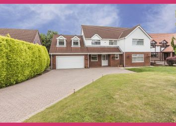 Thumbnail 5 bed detached house for sale in Bala Drive, Rogerstone, Newport