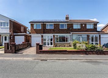 Thumbnail 4 bed semi-detached house for sale in Greenways, Consett, Durham