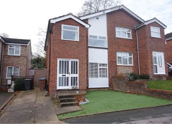 Thumbnail 3 bedroom semi-detached house for sale in Lanercost Way, Ipswich