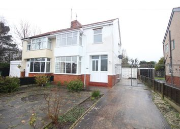 Thumbnail 3 bed semi-detached house for sale in Clarence Avenue, Thornton-Cleveleys