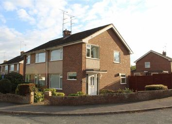 Thumbnail 3 bed semi-detached house for sale in Lon Cae Del, Mold, Flintshire