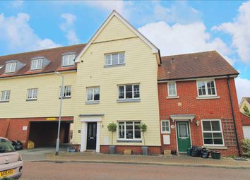 Thumbnail 4 bed town house for sale in Weetmans Drive, Colchester