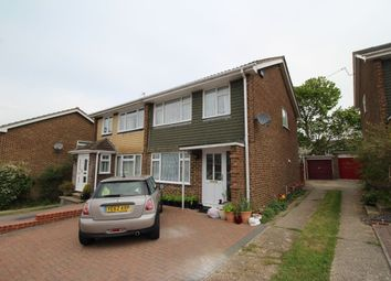 Thumbnail 3 bed semi-detached house to rent in Grainger Close, Basingstoke