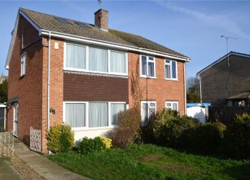 Thumbnail 4 bed semi-detached house for sale in Meadow Way, Theale, Reading, Berkshire