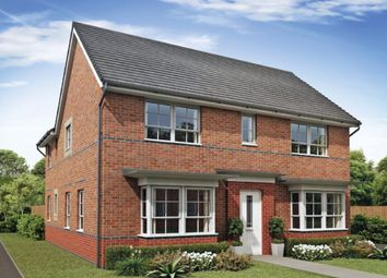 "Thumbnail 4 bed detached house for sale in ""Alnmouth"" at Wood End, Marston Moretaine, Bedford"