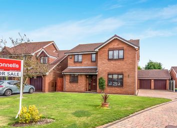Thumbnail 4 bedroom detached house for sale in Grocott Close, Penkridge, Stafford