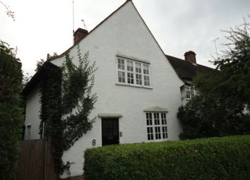Thumbnail 3 bed terraced house to rent in Asmuns Hill, Hampstead Garden Suburb