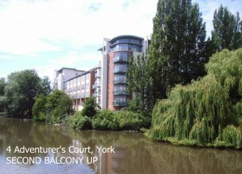Thumbnail 2 bed flat to rent in Adventurers Court, Hungate, York