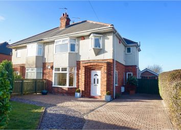 Thumbnail 3 bed semi-detached house for sale in Lincoln Road, North Hykeham