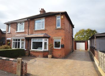 Thumbnail 3 bed semi-detached house for sale in Johns Avenue, Lofthouse, Wakefield, West Yorkshire