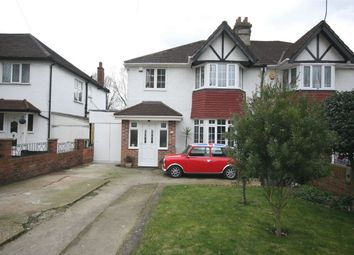Thumbnail 3 bed semi-detached house for sale in Brook Avenue, Wembley Park, Wembley, Greater London