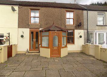 Thumbnail 4 bed terraced house for sale in Hoddinotts Houses, Pentre, Rhondda, Cynon, Taff.