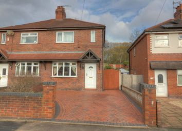 Thumbnail 2 bed semi-detached house for sale in Newcastle Street, Silverdale, Newcastle-Under-Lyme