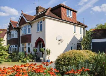 Thumbnail 4 bed semi-detached house for sale in Sayes Court, Addlestone