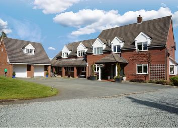 Thumbnail 6 bed detached house for sale in Silverdale Drive, Oswestry