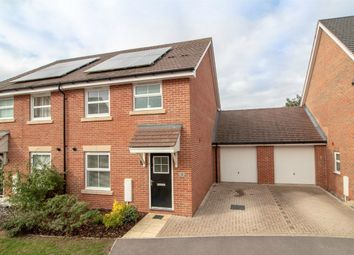 Thumbnail 3 bed semi-detached house for sale in Macintyre Place, Church Crookham, Fleet