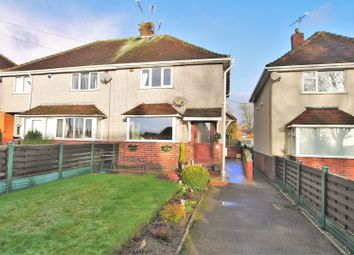 Thumbnail 3 bed semi-detached house for sale in Top Road, Calow, Chesterfield