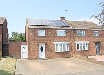 Thumbnail 3 bedroom semi-detached house for sale in St. Catherines Avenue, Bletchley, Milton Keynes
