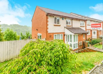 Thumbnail 3 bed end terrace house for sale in Coombe Way, Plymouth