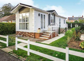 Thumbnail 2 bedroom mobile/park home for sale in Station Road, Snettisham, King's Lynn