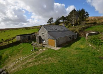 Thumbnail 4 bed cottage for sale in Bolventor, Launceston