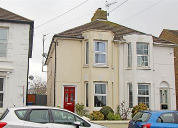 Thumbnail 2 bedroom semi-detached house for sale in Station Road, Teynham, Sittingbourne