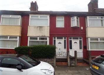Thumbnail 3 bed terraced house for sale in Rossall Road, Old Swan, Liverpool, Merseyside
