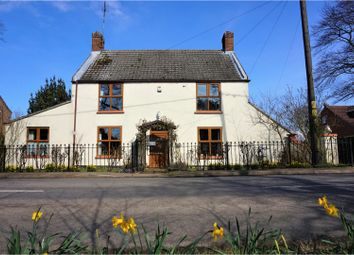 Thumbnail 4 bed detached house for sale in Croft Road, Upwell, Wisbech