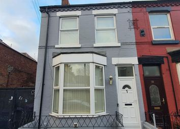 Thumbnail 3 bed end terrace house for sale in Ennismore Road, Old Swan, Liverpool