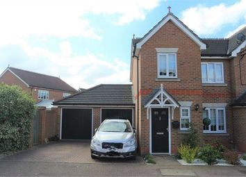 Thumbnail 3 bed semi-detached house for sale in Malkin Drive, Church Langley, Harlow, Essex.