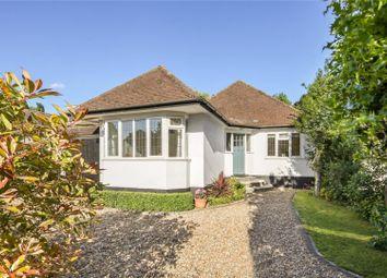 Thumbnail 3 bed detached bungalow for sale in Dorney Grove, Weybridge, Surrey