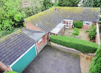 Thumbnail 2 bed bungalow for sale in Cottesmore Avenue, Oadby, Leicester
