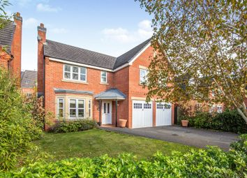 Thumbnail 5 bed detached house for sale in Payne Gardens, Ashbourne