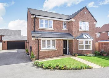 Thumbnail 4 bed detached house for sale in Overend Avenue, Pocklington, York