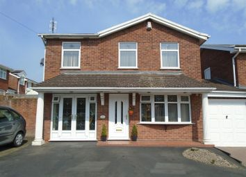 Thumbnail 4 bed detached house for sale in Swan Close, Cheslyn Hay, Walsall