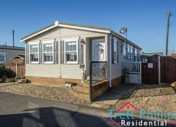 Thumbnail 2 bed mobile/park home for sale in Coast Road Chalet Estate, Coast Road, Bacton, Norwich
