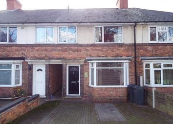 Thumbnail 3 bed terraced house for sale in Kings Road, Kingstanding, Birmingham, West Midlands