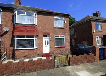 Thumbnail 3 bed semi-detached house for sale in Bosworth Gardens, North Heaton, Newcastle Upon Tyne