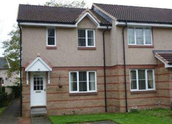 Thumbnail 3 bedroom semi-detached house to rent in Queens Court, Stenhousemuir, Larbert