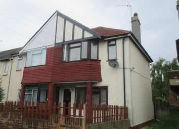 Thumbnail 2 bedroom end terrace house to rent in St. Marks Avenue, Northfleet, Gravesend