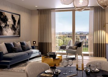 Thumbnail 3 bed flat for sale in Park Place, London