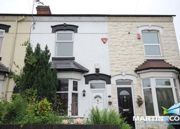 Thumbnail 2 bedroom terraced house to rent in Drayton Road, Bearwood