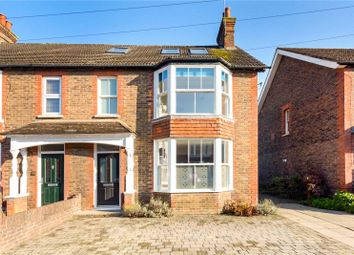 Thumbnail 4 bed semi-detached house for sale in Kempshott Road, Horsham, West Sussex