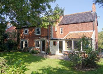 Thumbnail 4 bedroom detached house for sale in Bury Road, Hepworth, Diss