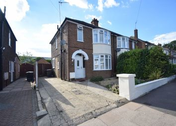 Thumbnail 3 bed semi-detached house to rent in Anstee Road, Luton