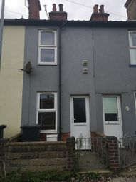 Thumbnail 2 bedroom terraced house to rent in Arnold Street, Lowestoft