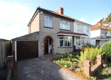 Thumbnail 3 bed semi-detached house for sale in Wellington Drive, Henleaze, Bristol