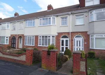 Thumbnail 3 bed terraced house to rent in Hastings Avenue, Elson, Gosport, Hants